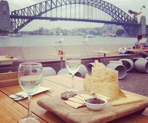 food, bridge, and drink image
