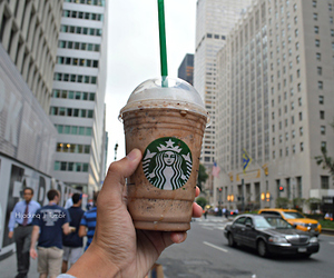 starbucks, yum, and drink image