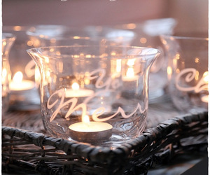 candle, christmas, and merry image