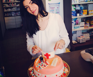 birthday, birthdaycake, and pharmacist image