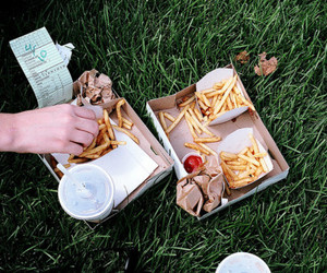 burgers, fast food, and picnic image