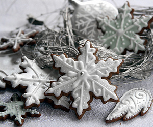 christmas, food, and snow image