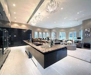 house, luxury, and kitchen image