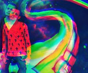 acid, colors, and lsd image