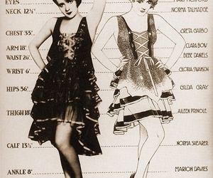 vintage, flapper, and 1920s image