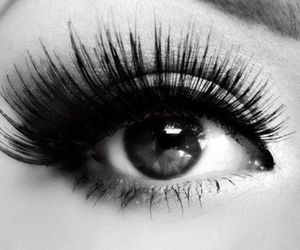 b&w, pretty, and eye image