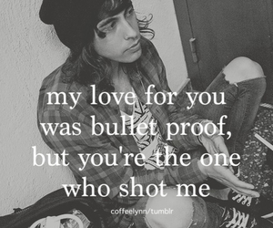 pierce the veil, vic fuentes, and bulletproof love image