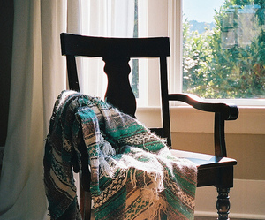 vintage, chair, and grunge image