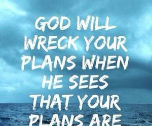 god, plan, and quotes image