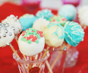 baking, cake pops, and chocolate image