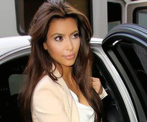 kim kardashian, style, and hair image