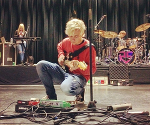 r5, ross lynch, and guitar image