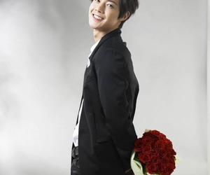 flowers, kim hyun joong, and ss501 image
