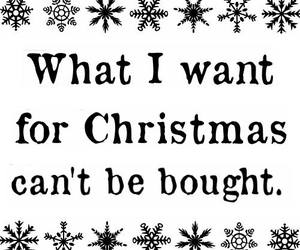 christmas, happiness, and want image