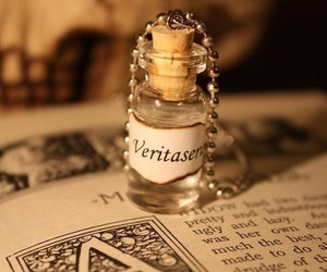 harry potter, veritaserum, and book image