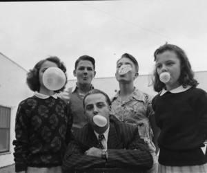 old, vintage, and bubblegum image
