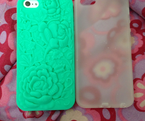 mint green, white, and team iphone image