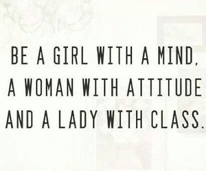 girl, lady, and quote image