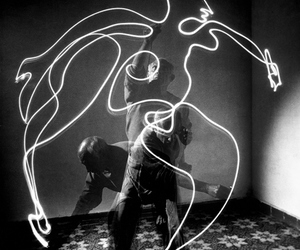 picasso, art, and light image