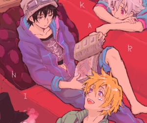 anime, boy, and saturday morning image