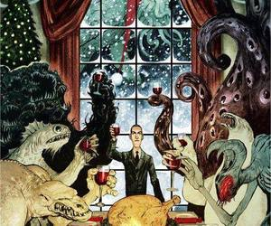 HP Lovecraft, Lovecraft, and monsters image