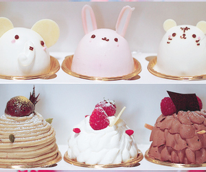 cake, cute, and food image