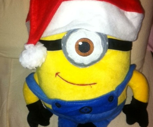 christmas, merry christmas, and minion image