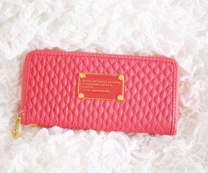 pink, fashion, and purse image