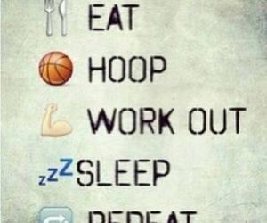 Basketball, eat, and life image