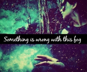 fog, hunger games, and catching fire image