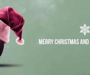 Basketball, christmas, and merry christmas image