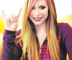 Avril Lavigne, Avril, and hair image