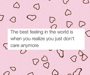 quotes, care, and feeling image