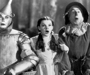 black & white, Oz, and Dorothy Gale image