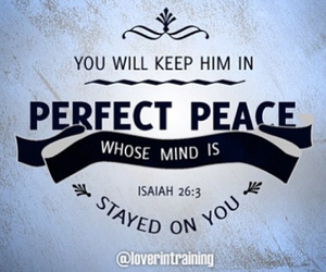 god, perfect love, and perfect peace image