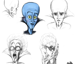 concept art, disney, and drawing image