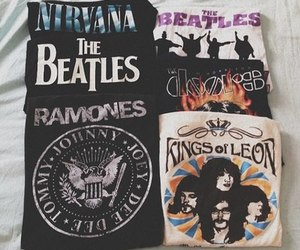nirvana, ramones, and the beatles image