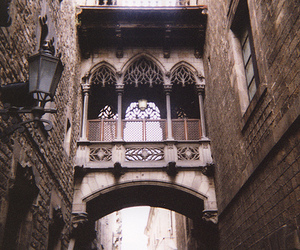 vintage, architecture, and Barcelona image