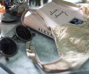 book, sunglasses, and alexa chung image