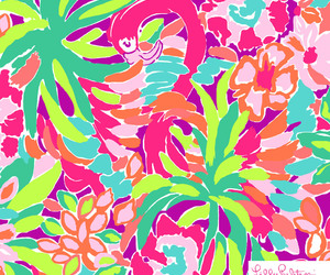 wallpaper, lilly pulitzer, and background image
