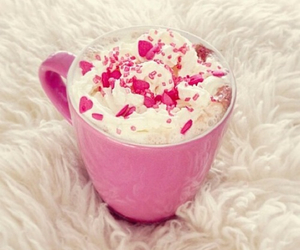 pink, sweet, and food image