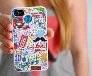 iphone, case, and 1d image
