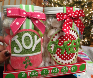candy shop and christmas image