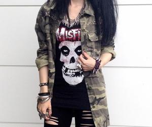 style, fashion, and misfits image