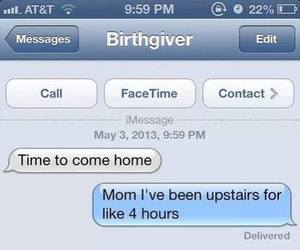 hours, lol, and mom image