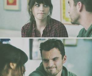 new girl, couple, and jess image