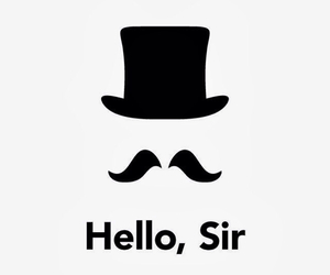 hello and sir image