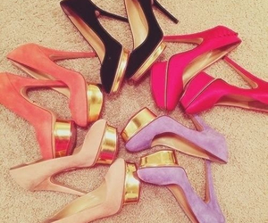 fashion, hells, and shoes image