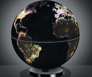 world and light image