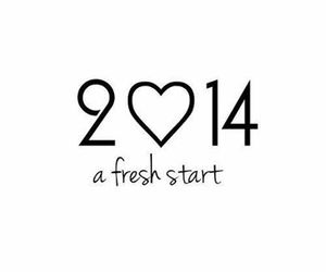 2014, new year, and start image